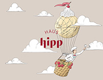 Corporate Design for Haus Hipp