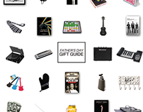 Farther's Day Gift Guide Promotion
