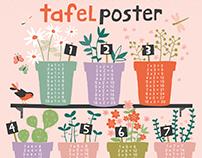 Tafel poster