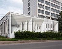 3d graffiti - architectural mural