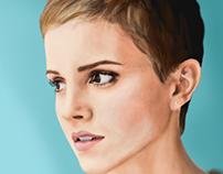 Digital Painting: Emma Watson