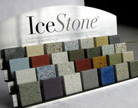 IceStone product sample display