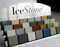 IceStone product sample display