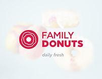 Family Donuts | Logo & Corporate Identity
