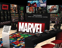 Marvel Comics - Walmart Store in Store