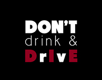 Don't Drink & Drive - Poster
