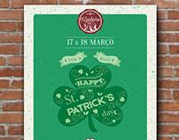 O Lanheiro Café-Bar / St. Patrick's Day // Poster