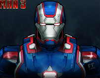 Iron man Patriot - 2013