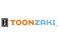 Toonzaki (Logo, Website, Print Poster)