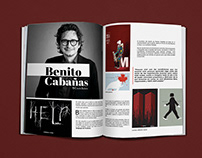 Publireportaje a Benito Cabañas