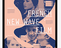 FRENCH NEW WAVE FILM poster