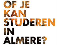 Student in Almere | Campagne