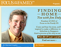 "Focus on the Family ""Corporate e-newsletter"""