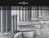 Tradorax Website - part 2 - Inner Pages