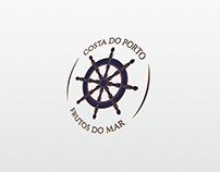 identidade de marca // costa do porto frutos do mar