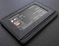 International ID - Passport Card Concept