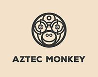 Aztec Monkey - Logo