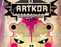 / ARTKOR  Logo versions / Non government organization /
