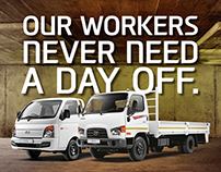Hyundai: Tactical Workers Day Advert