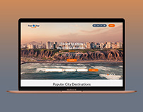 Hop Hop travel agency web design