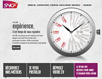 SNCF - Ton expérience a de l'avenir