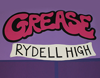 WRC Grease the Musical | Set Design