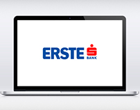 Hungarian Erste Bank Website Redesign