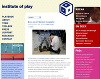 Institute of Play Website
