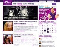 Orizonia, Acción social Blog