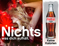 COKE-LIGHT • Print Campaign