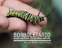 Borboletário - Manual de Normas Gráficas