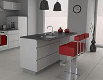 Kitchen ArchViz