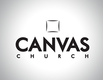 Canvas Church Logo Design