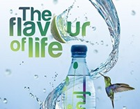 A try for a drink ad