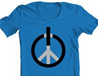 Peace Power: Press ON! T-Shirt Design