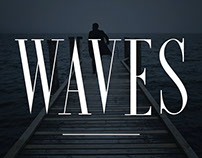 Waves - Ultra Condensed Serif