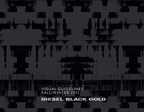 DIESEL BLACK GOLD - Fall Winter 12 Visual guidelines