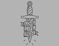 Love, Life, Pain