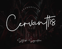 Free Cervanttis Signature Script Font