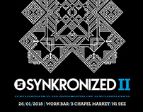 Synkronized - Drum & Bass Flyers