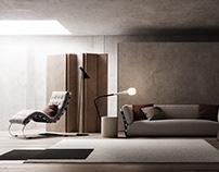 Living Room Render