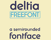 Deltia Semirounded Freefont