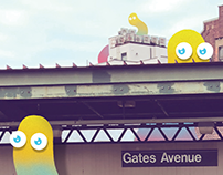 Blub on Gates Ave.