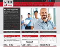 MTD CNC: Website 2012-13