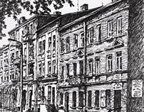 Żyrardów Tuszem Malowany / Zyrardow Ink Painting