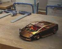 Steampunk Hard-edge Modelling