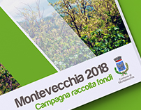 Graphic design for Square brochure Montevecchia 2018