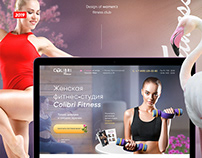 Women's fitness club | Web Site Design