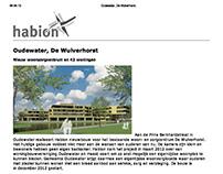 Projecttekst Habion voor De Wulverhorst in Oudewater