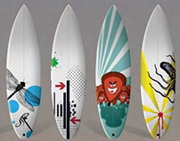 Surfboard Inlays